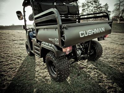 4x4 électrique cushman 1600 xd 2 places