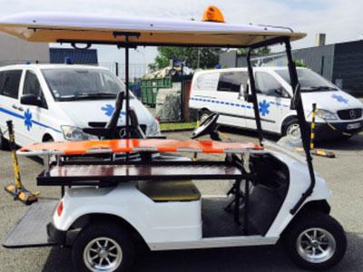 eagle ambulance 2 places civière