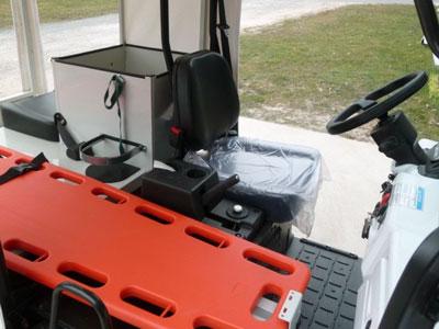 golfette ebox premiers secours