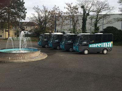 Mini Bus électrique Geco 6 places homologué route