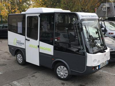 Mini Bus électrique Grifo 7 places