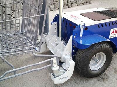 Tracteur pousseur électrique jobby m9