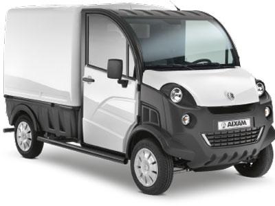 Utilitaire électrique Aixam d-truck fourgon