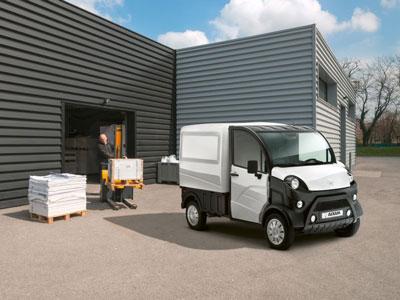 Utilitaire électrique Aixam e-truck fourgon
