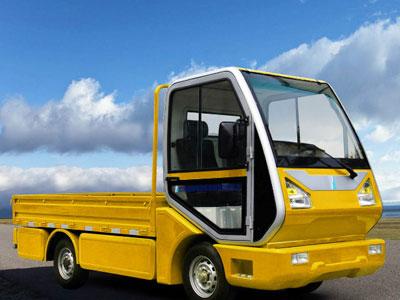 utilitaire électrique camion 2 places plateau