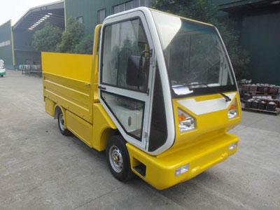 utilitaire électrique camion plateau hayon