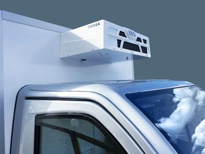 Utilitaire électrique colibus frigorifique