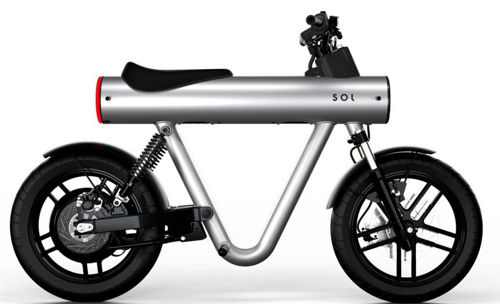 moto electrique sol pocket rocket s argent hd